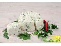 Сыр (панир) домашний с зеленью