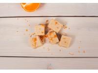 Сандеш - творожный десерт с апельсином