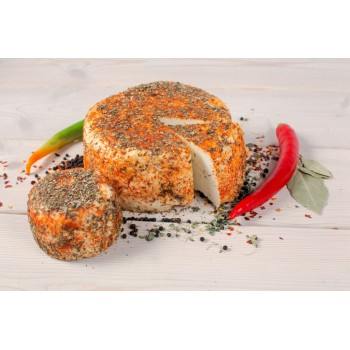 Адыгейский сыр (панир) домашний с пряностями