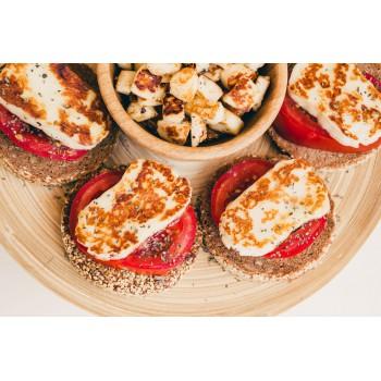 Сыр для жарки с вялеными томатами
