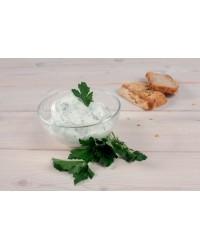 Сыр домашний йогуртовый с зеленью