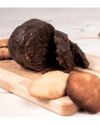 Масло шоколадное (кэробовое) с миндалем