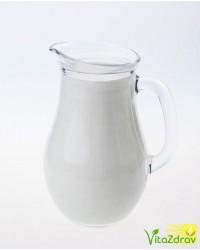 Молоко домашнее обезжиренное