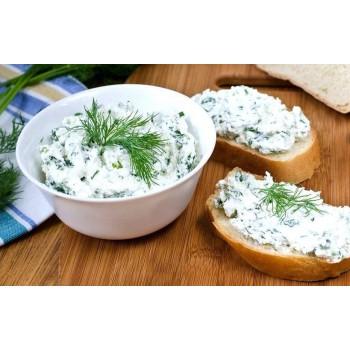 Сыр рикотта с зеленью