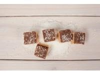 Сандеш шоколадный - творожный десерт с кэробом