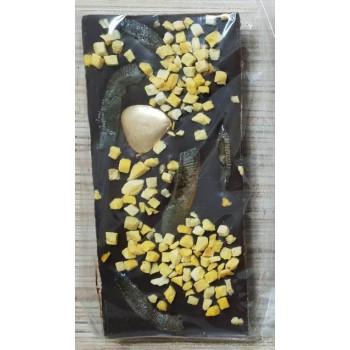 Темный шоколад с манго и апельсином