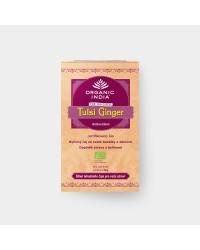 Лечебный аюрведический чай Tulsi Ginger с имбирем